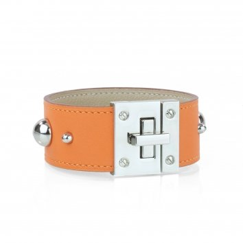 Manchette Atelier Clause TURN'LOCK STUD Swift Mandarine