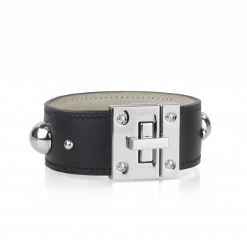Manchette Atelier Clause TURN'LOCK STUD Swift Black