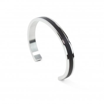 Atelier Clause Bracelet STEEL BANGLE Deep Black