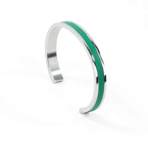 Atelier Clause Bracelet STEEL BANGLE Menthe