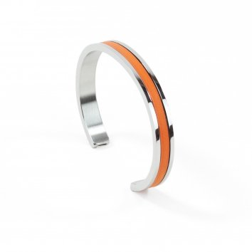 Atelier Clause Bracelet STEEL BANGLE Mandarine
