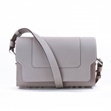 Sac LITTLE NICKI veau swift Tourterelle