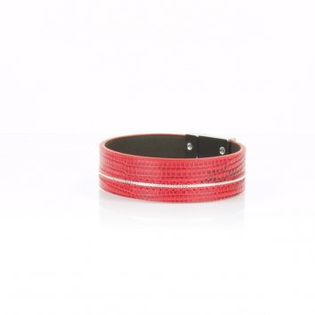 Bracelet RICE Java Rouge Fin - Atelier Clause