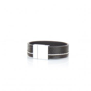 Bracelet RICE Java Deep Black - Atelier Clause