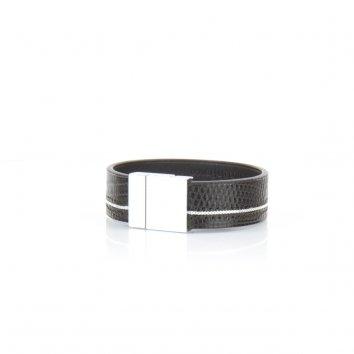 Bracelet RICE Java Deep Black - Atelier Clause