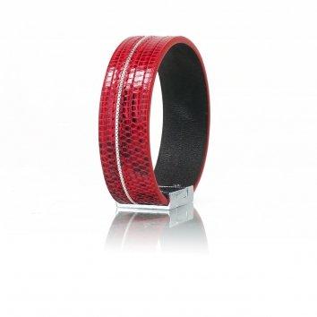 Bracelet RICE Java Rouge Fin - Atelier Clause