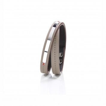 Bracelet IDENTITY LOOP Veau Warm Taupe Atelier Clause