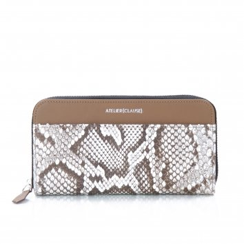 Compagnon Zippé Python White Optic