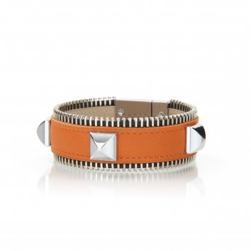 Bracelet ZIGGY SPIKES Swift Potiron