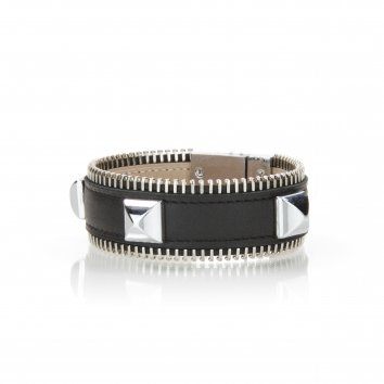 Bracelet ZIGGY SPIKES Swift Deep Black - Atelier Clause