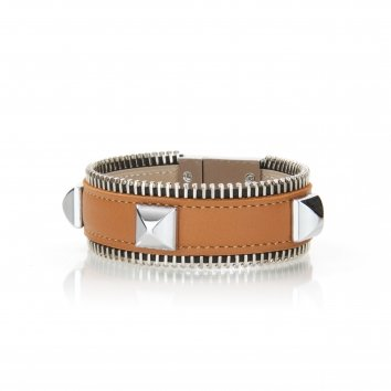 Bracelet ZIGGY SPIKES Swift Mandarine Atelier Clause
